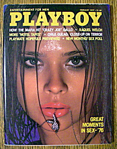 Vintage Playboy-February 1977-Star Stowe (Image1)
