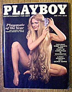 Playboy Magazine-june 1978-debra Jo Fondren