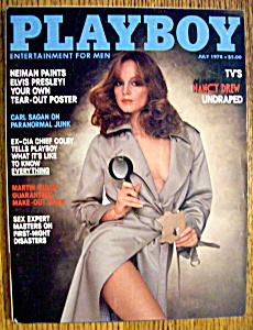 Vintage Playboy-July 1978-Karen Morton (Image1)