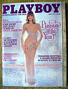 Playboy Magazine-june 1979-monique St. Pierre