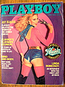Vintage Playboy-april 1980-liz Glazowski
