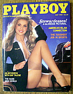 Playboy Magazine-may 1980-martha Thomsen