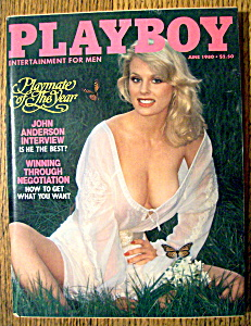 Playboy Magazine-june 1980-dorothy Stratton