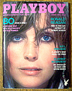 Playboy Magazine-August 1980-Victoria Cooke/Bo Derek (Image1)
