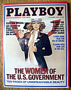 Playboy Magazine - November 1980 - Jeana Toasino (Image1)
