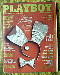 Playboy Magazine-december 1980-terri Welles