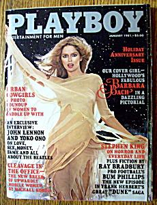 Vintage Playboy-January 1981-John Lennon & Yoko Ono (Image1)