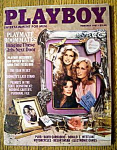 Vintage Playboy-February 1981-Vicki Lynn (Image1)
