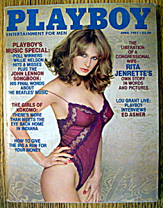 Playboy Magazine-april 1981-lorraine Michaels