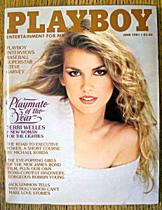 Vintage Playboy-june 1981-terri Welles