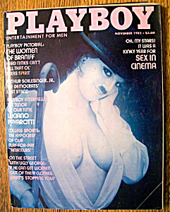 Vintage Playboy-november 1982-marlene Janssen