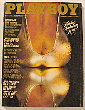 Playboy Magazine-january 1982-kimberly Mcarthur