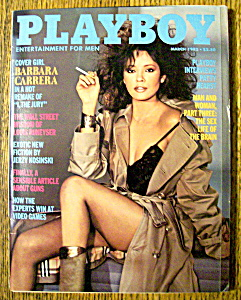 Vintage Playboy-march 1982-karen Witter