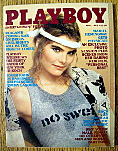 Vintage Playboy-april 1982-lynda Rhys Vaughn