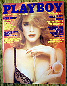 Playboy magazine October 1974 Ester Cordet AJ Foyt Al Goldstein VERY GOOD