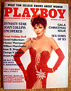 Vintage Playboy-December 1983-Tom Selleck Interview (Image1)