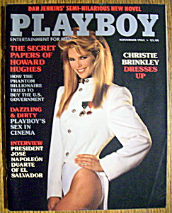 Vintage Playboy-november 1984-roberta Vasquez