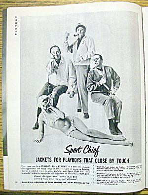 Playboy Magazine-march 1959-audrey Daston