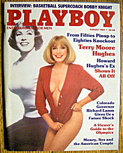 Vintage Playboy-august 1984-suzi Schott