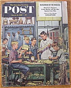 Saturday Evening Post Cover -Dohanos- March 19, 1955 (Image1)