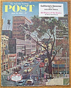 Saturday Evening Post Cover - Falter - June 25, 1960