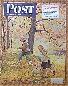 Saturday Evening Post Cover By Clymer - Oct 7, 1950