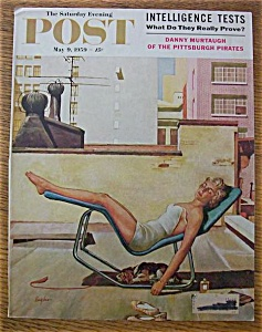 Saturday Evening Post Cover By Hughes - May 9, 1959