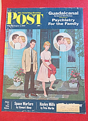 Saturday Evening Post Cover /Sewell-July 28-Aug 4, 1962 (Image1)