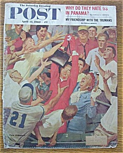 Saturday Evening Post Cover-april 23, 1960-dick Sargent