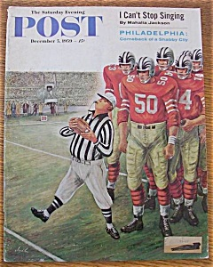 Saturday Evening Post Cover By Alajalov - Dec 5, 1959