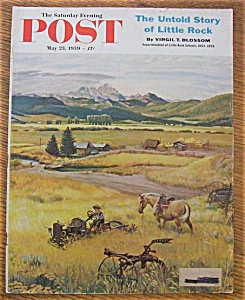 Saturday Evening Post Cover By Clymer - May 23, 1959