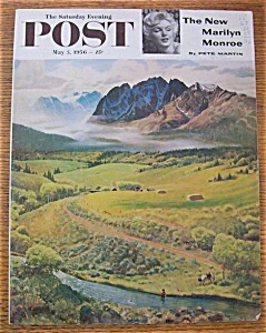 Saturday Evening Post Cover By Clymer - May 5, 1956