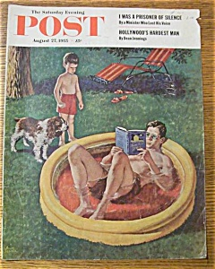 Saturday Evening Post Cover By Sewell - August 27, 1955 (Image1)