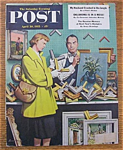 Saturday Evening Post Cover -Dohanos- April 30, 1955 (Image1)