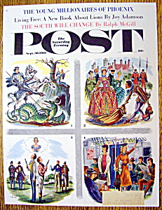 Saturday Evening Post Cover/alajalov-september 30, 1961