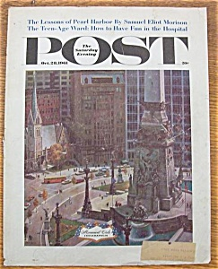 Saturday Evening Post Cover - Falter - October 28, 1961