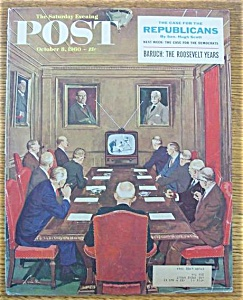 Saturday Evening Post Cover/l. Bee - Oct 8, 1960