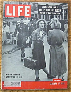 Life Magazine January 17, 1955 Military Appraisal