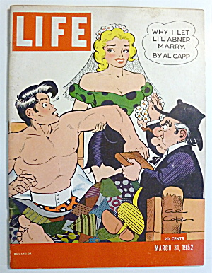 Life Magazine - March 31, 1952 - Lil Abner