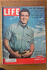 October 3, 1955 Life Magazine Rock Hudson