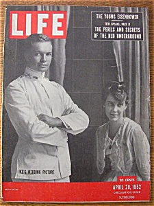 Life Magazine - April 28, 1952 - Ike's Wedding Picture