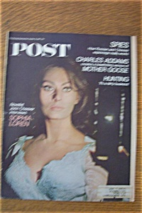 Sat Eve Post Magazine - October 21, 1967 - Sophia Loren (Image1)