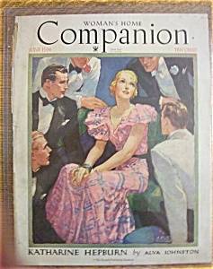 Woman's Home Companion Cover/jay Barnum - June 1934