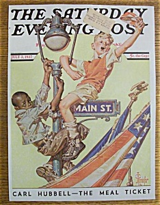 Saturday Evening Post Cover -leyendecker- July 3, 1937