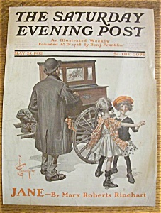 Saturday Evening Post Cover -leyendecker- May 25, 1912