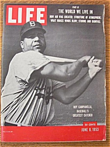 Life Magazine - June 8, 1953 - Roy Campanella