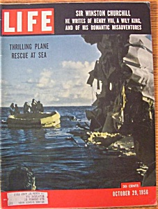 Life Magazine October 29, 1956 Sir Winston Churchill
