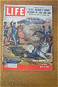 Life Magazine-July 23, 1956-Battle Of Buena Vista (Image1)