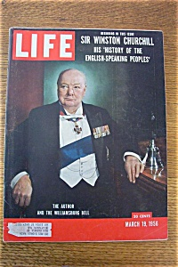 Life Magazine - March 19, 1956 - Sir Winston Churchill (Image1)