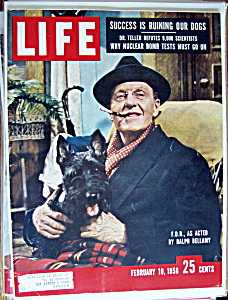Life Magazine - February 10, 1958 - Ralph Bellamy